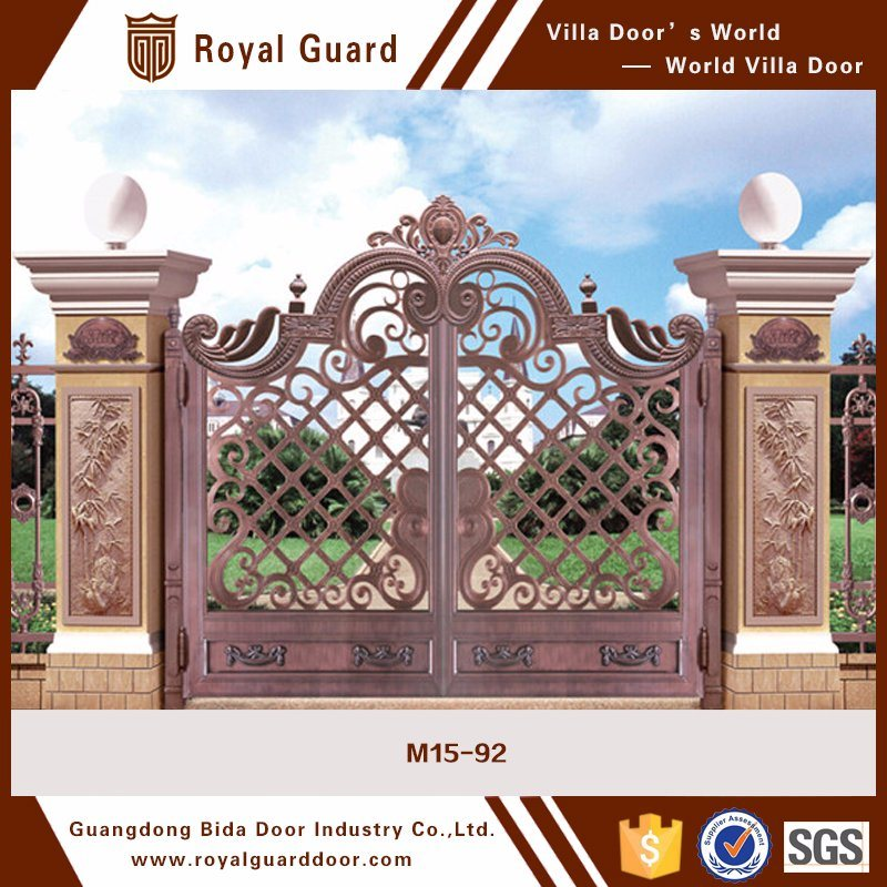 China indian house main gate designs compound wall gate - Sliding main gate design for home ...
