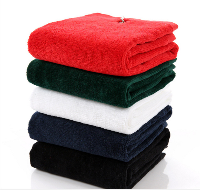 China 100 Pure Cotton Gift Golf Towels On Sale Photos Pictures