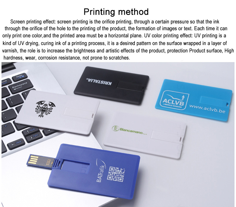China Profotional Gifts Business Card USB Flash Drive, Credit Card ...