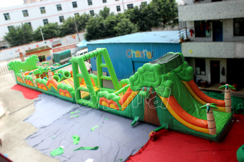 New Arrival Inflatable Forest Obstacle Course for Amusement Park (CHOB1107) pictures & photos