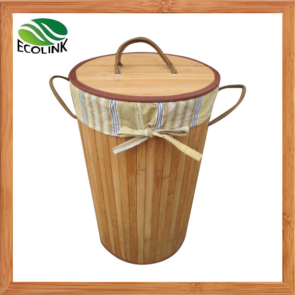 Bamboo Laundry Basket / Dirty Clothes Basket