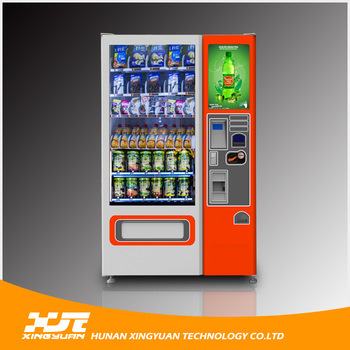 22 Inches Touch Screen Vending Machine with User Interface