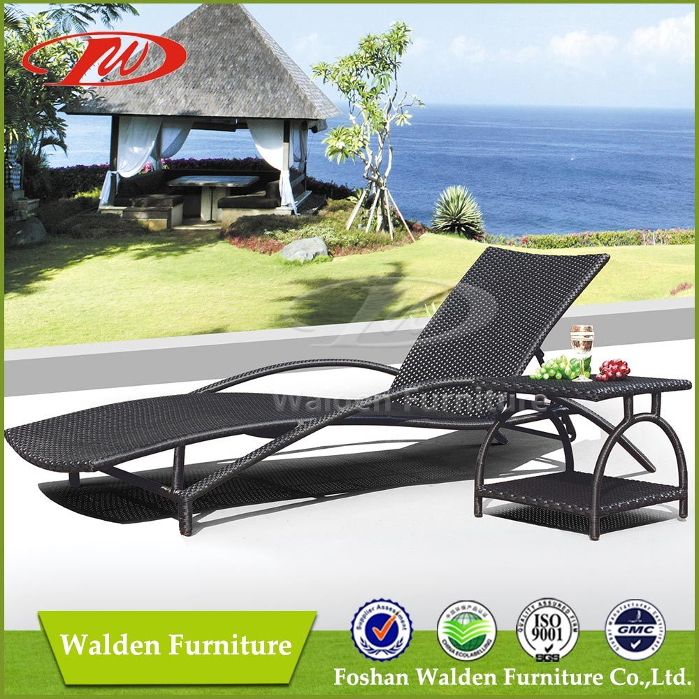 China rattan sunlounger dh 8019 china outdoor furniture rattan sofa