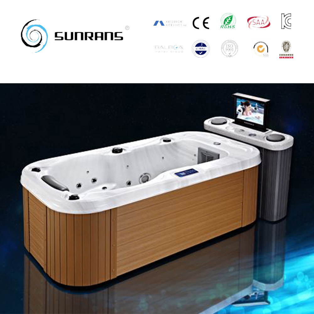 China Portable Wooden Mini Indoor Single Person Hot Tub Photos ...