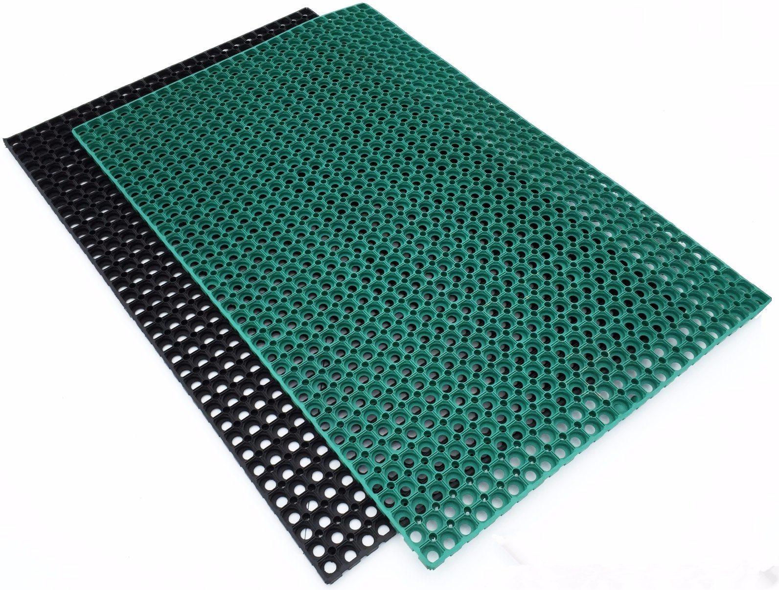 China Anti Slip Grass Drainage Rubber Mats/Ship Deck Rubber Flooring ...