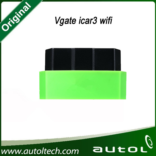 2016 Newest Vgate Icar3 WiFi Mini Elm327 Vgate OBD2 Elm 327 WiFi Car Diagnostic Interface Support Android Ios PC Icar3 WiFi
