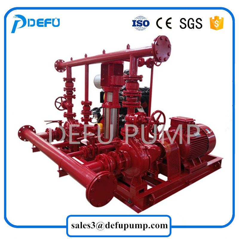 [Hot Item] 750gpm UL Listed Diesel Engine Fire Pump Package for Hot Sale