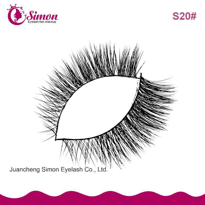 China Mink Hair Eyelash Extension False Strips Eye Lashes China