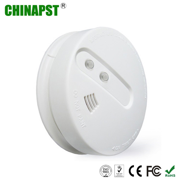 China Battery 9v Wireless Photoelectric Smoke Detector Pst Sd203