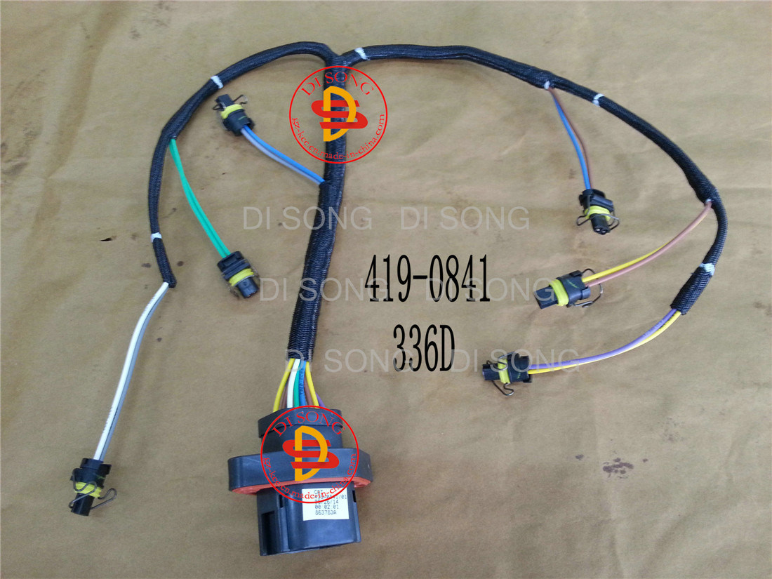 China Spare Parts, Engine Parts, Injector Wiring Harness (419-0841) - China  Auto Parts, Spart Parts