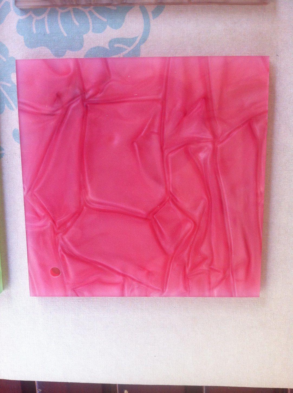 [Hot Item] Pink Pattern Acrylic Sheet 100% Virgin Mitsubishi PMMA Material