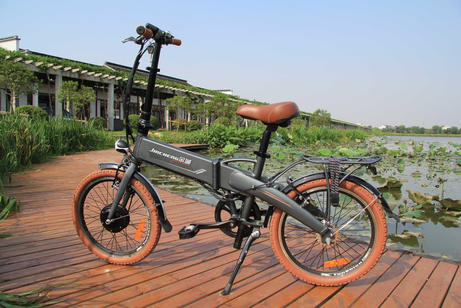Lithium Battery Foldable Bicycle CB-20f05 pictures & photos
