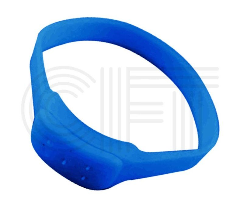 The Cft for 5 Hole (blue) Silicon Mosquito Repellent Bracelet