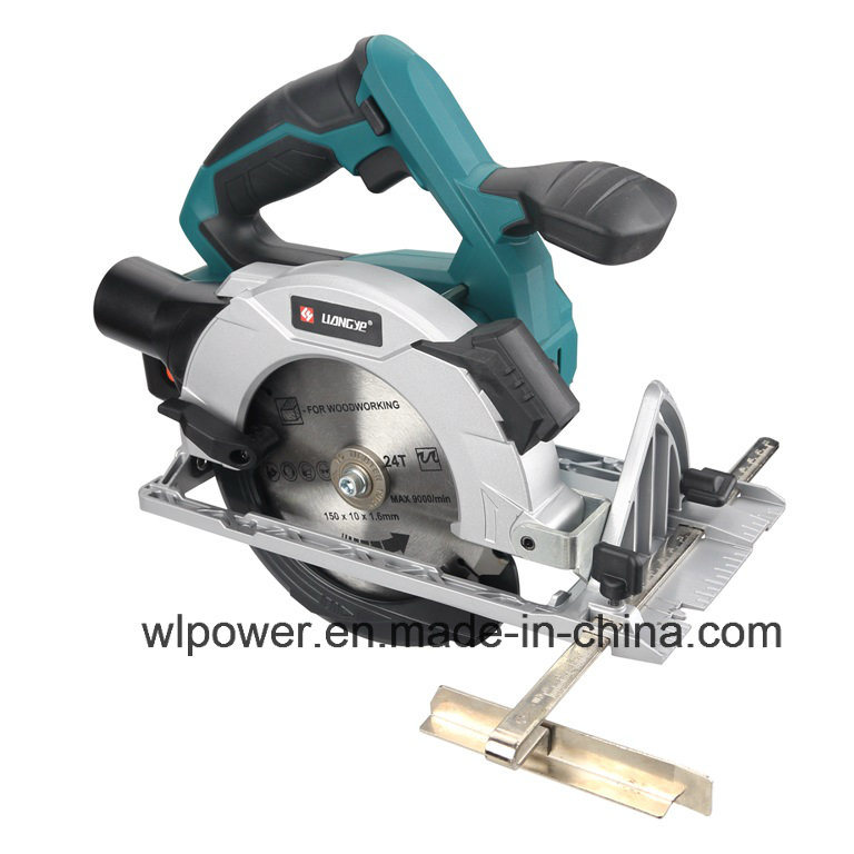 18V 4.0ah Cordless Circular Saw Li-ion Power Tool