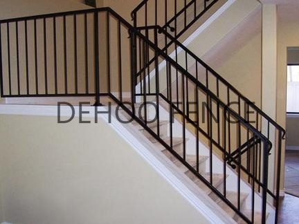 Top Quality Powder Coated Custom Decorative Stair Handrail
