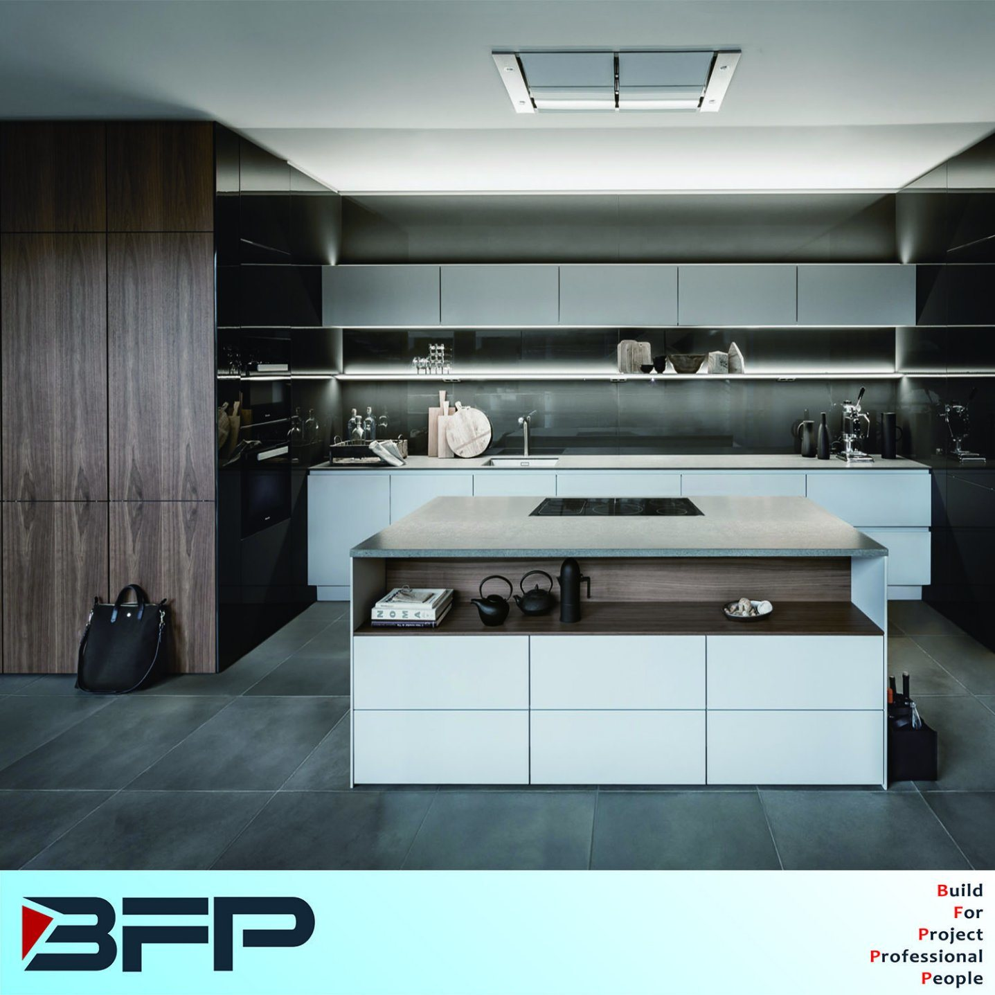 China Australian Style Modern Kitchen Furniture Lacquer Kitchen ...
