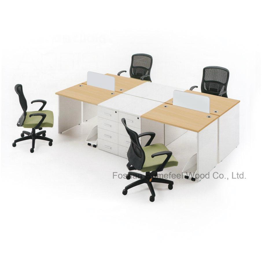 wooden office desk simple. Wooden Office Desk, Simple Table/ Four Person Desk (HF-DS0313) E