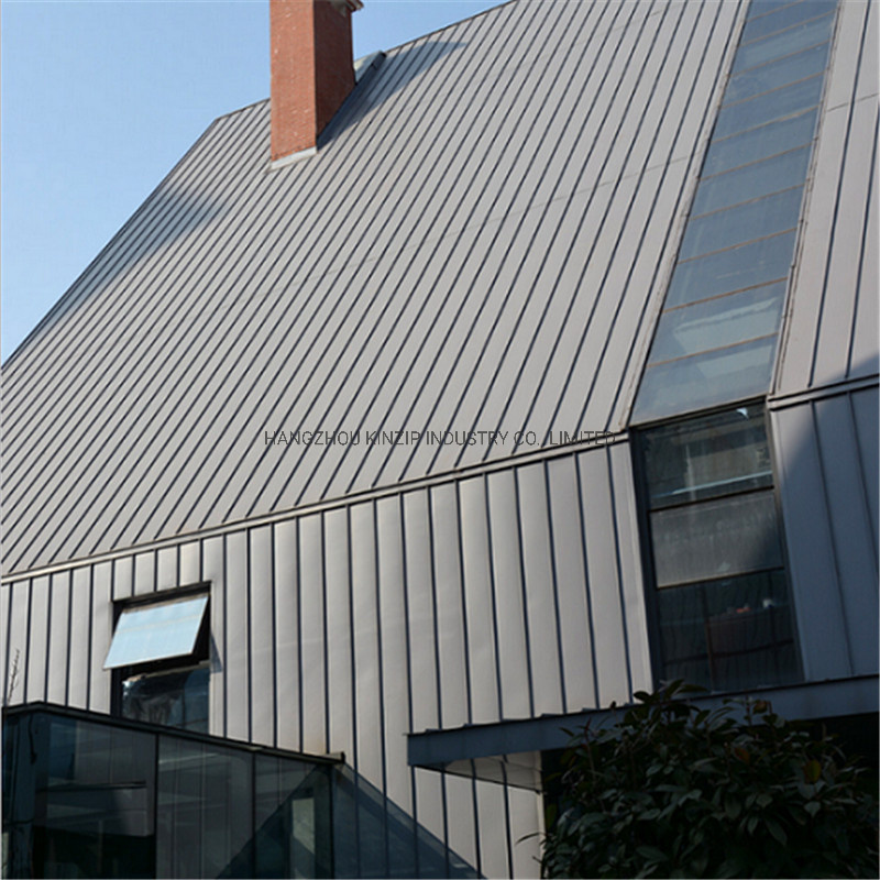 China Aluzinc Zinc Aluminium Aluminium Standing Seam Metal Wall Cladding China Standing Seam Metal Wall Cladding Aluzinc Standing Seam Metal Wall Cladding