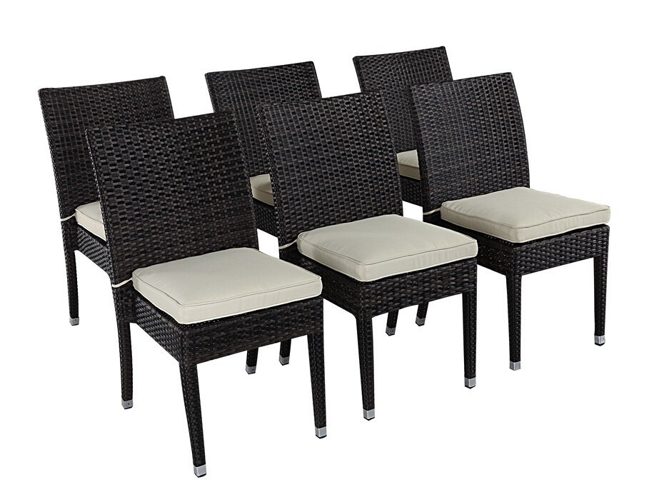 China Modern Outdoor Furniture Restaurant Used Dining Rattan Chair