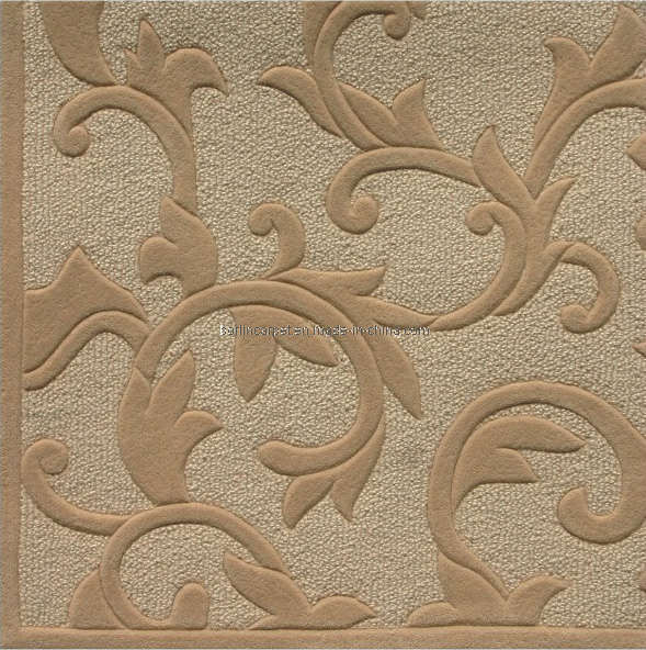China Hand Tufted Carpet Customized Wool Carpet Wall To