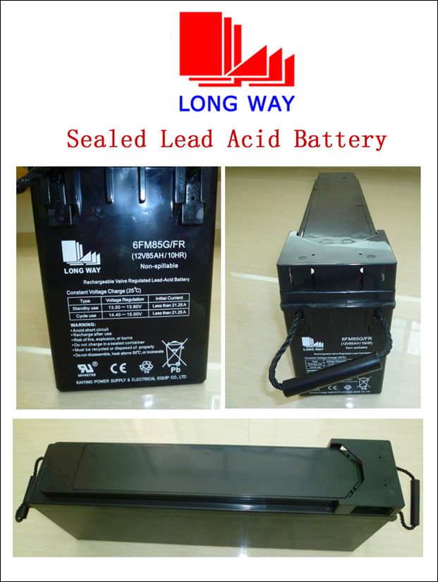 12V85ah Front Access Battery Sealed Lead-Acid Battery Communications Equipment Battery