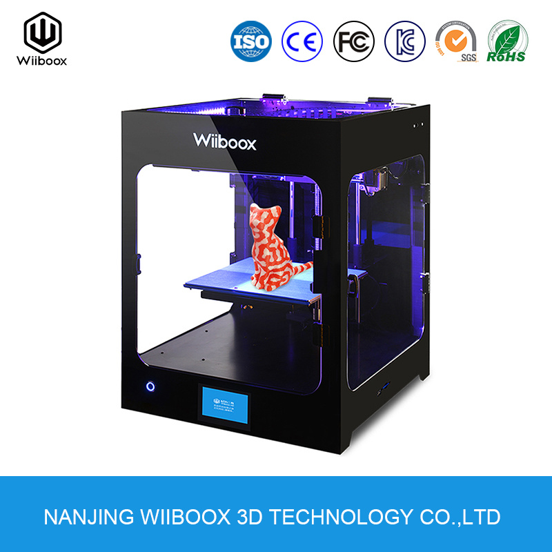 Wiiboox Two Wholesale Ce/FCC/RoHS 3D Printing Machine Fdm Desktop 3D Printer pictures & photos