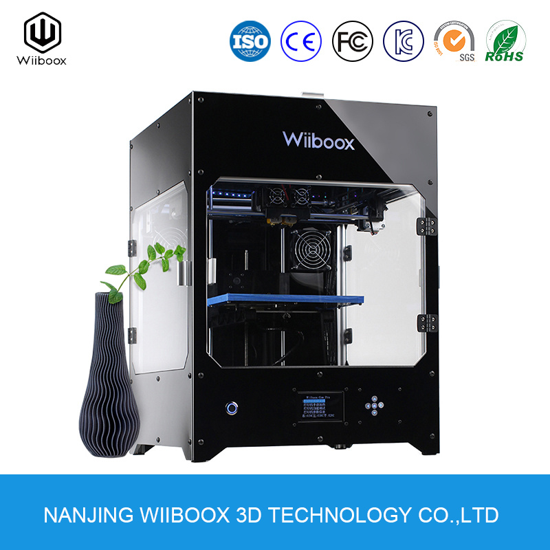 Wiiboox Company300 Industrial Household Dual Nozzle High Accuracy Fdm Desktop 3D Printer pictures & photos