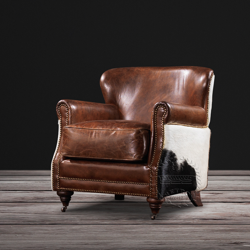 China Latest Sofa Design Upholstery Leather Single Sofa Chair Armchair For Living Room China