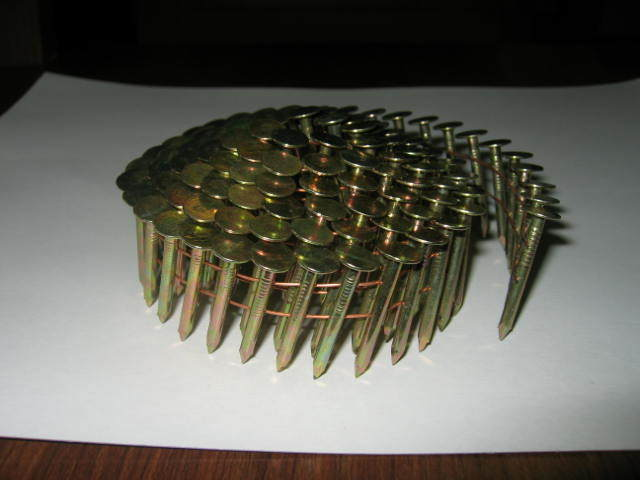 China Wire Collated Coil Roofing Nails China Collated