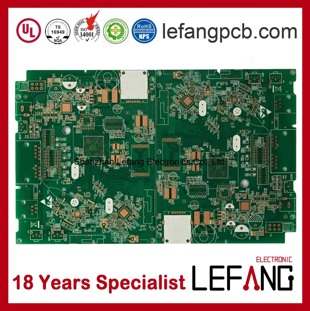 Two Sided Circuit Board Made Pcb Printed China Double For Intercom Device Security 1188x1192