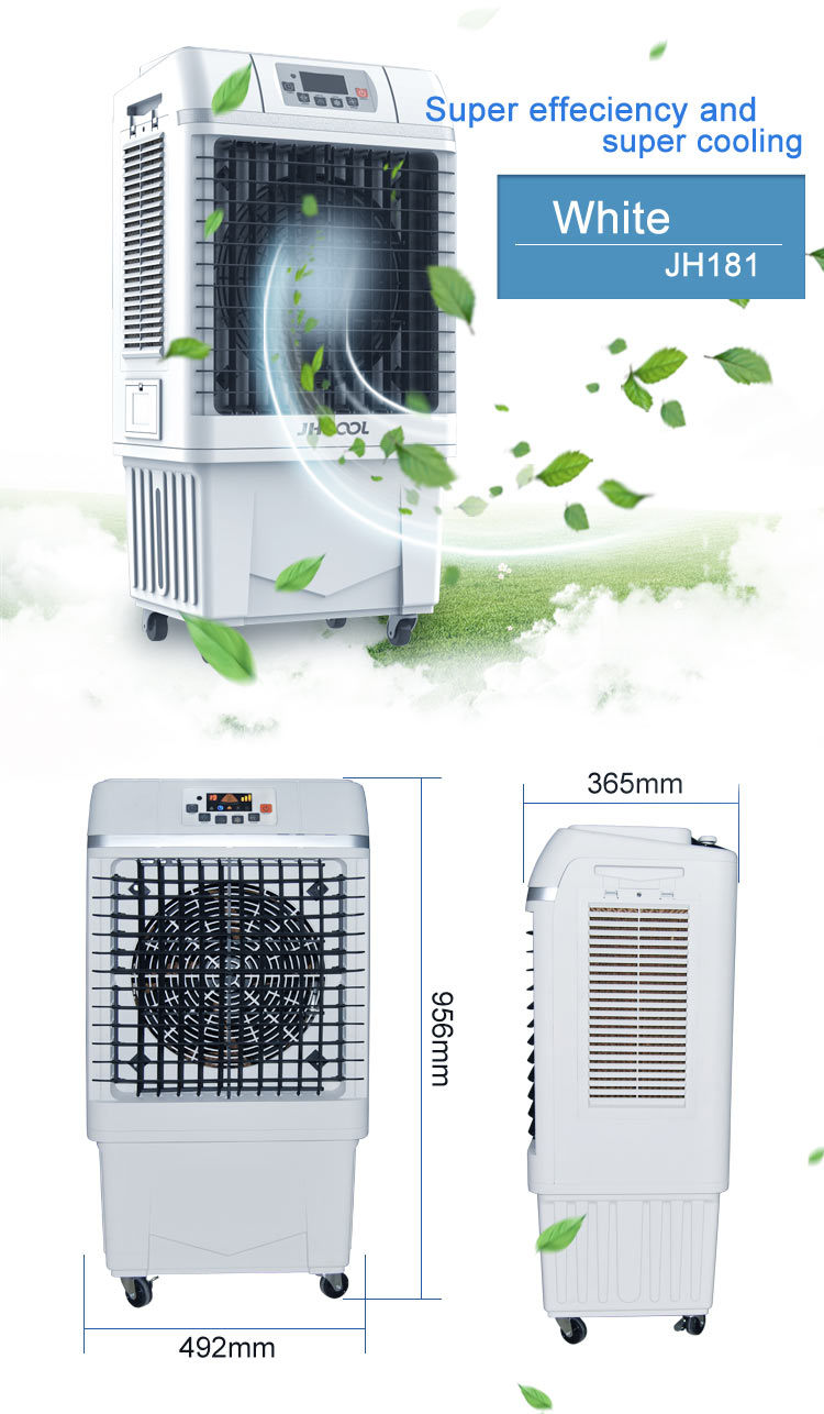 China Best Portable Swamp Water Evaporative Air Cooler Jh181