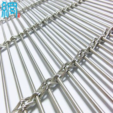 China Decorative Stainless Steel Architectural Rope Wire Mesh ...
