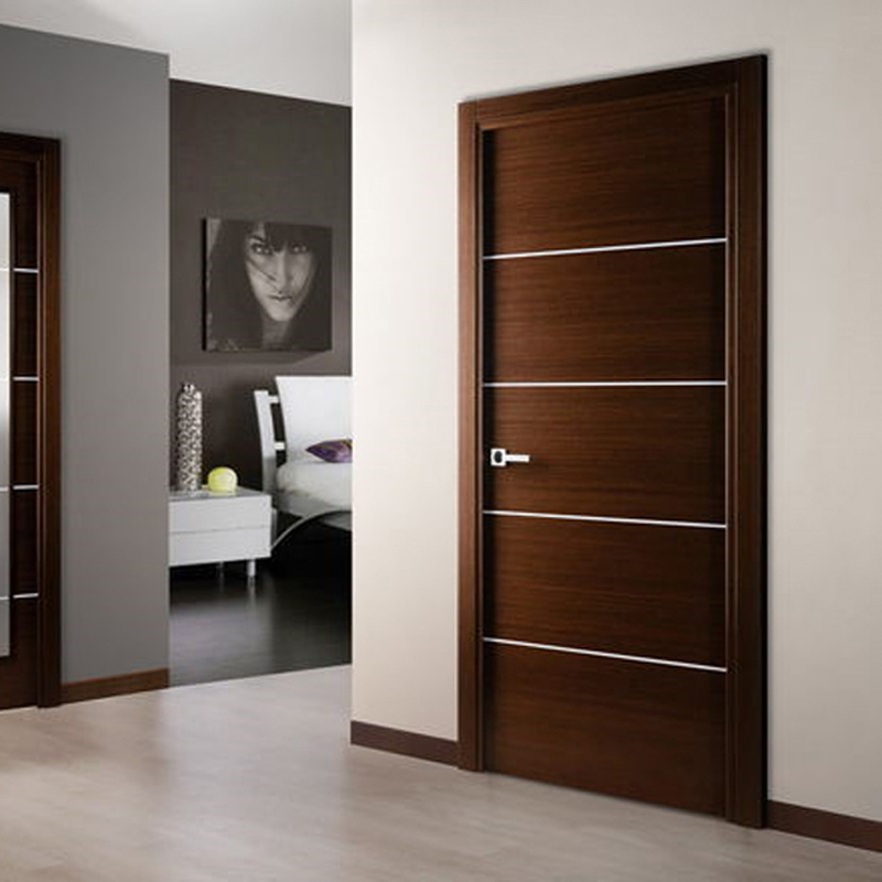 Bedroom Door: China Interior Bedroom Entry Modern Teak Wood Main Door
