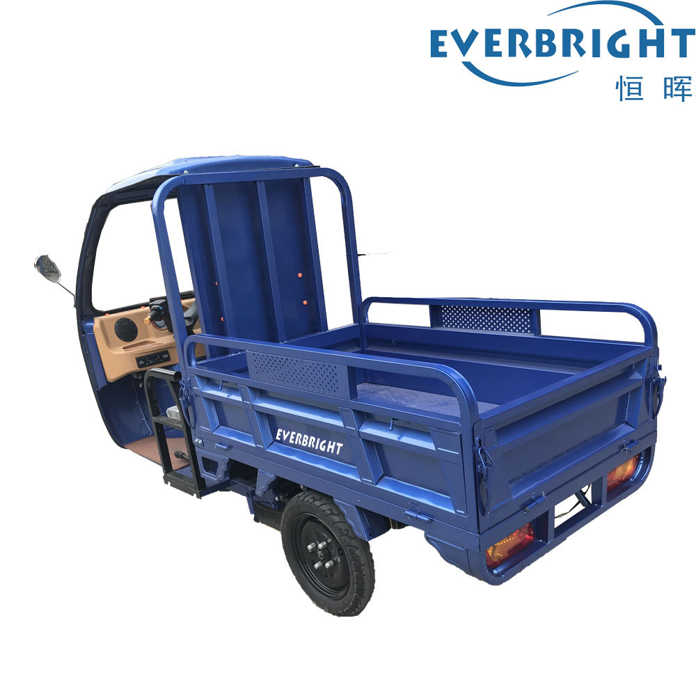 Electric Mini Cargo Trike 80km Range Distance for Farm Transfer Goods pictures & photos