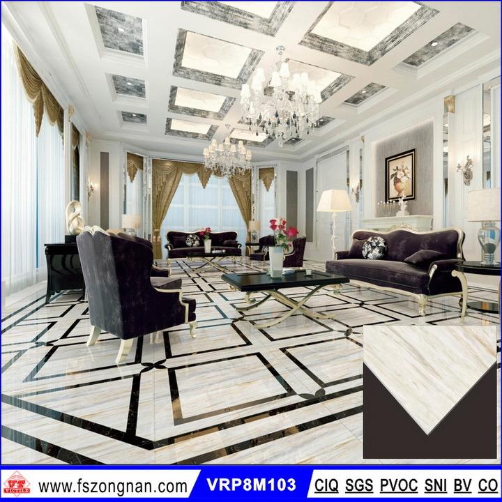 China High Quality Marble Polished Porcelain Floor Tiles Vrp8m103