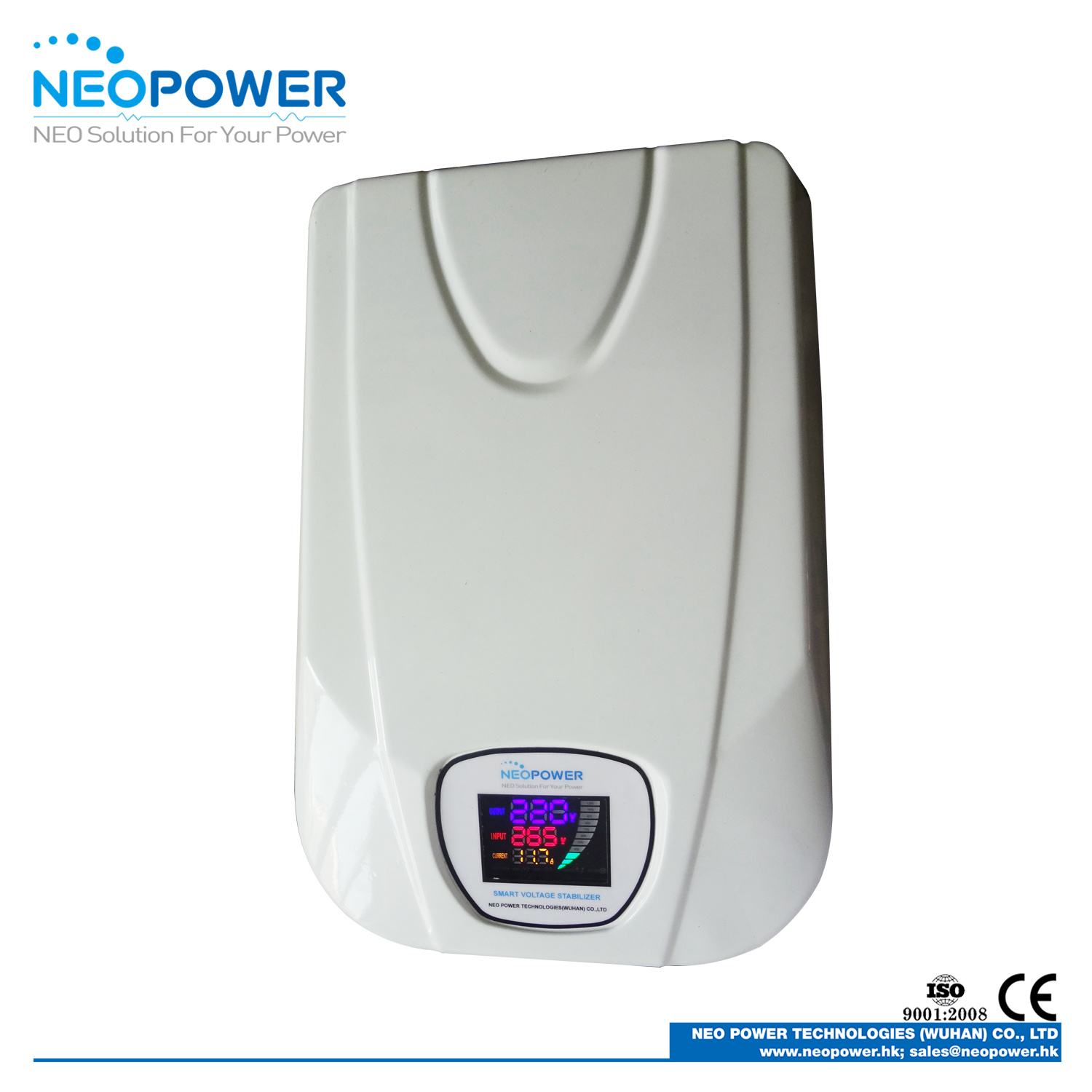 China 10kva Ac Voltage Stabilizer Wall Mounted Static Circuit