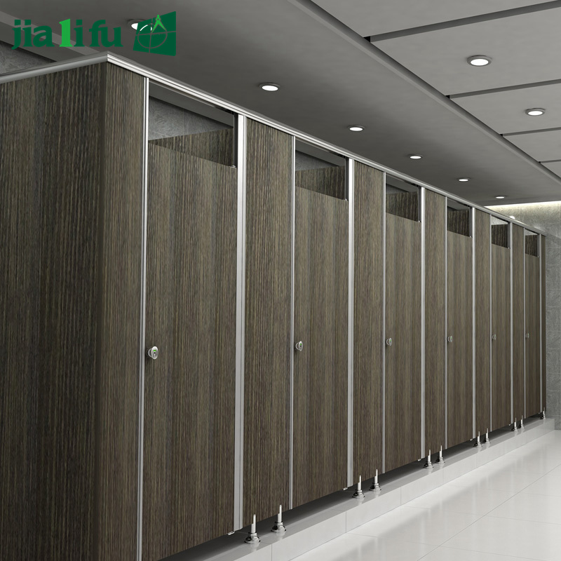 Jialifu Modern HPL Panel Toilet Partition pictures & photos