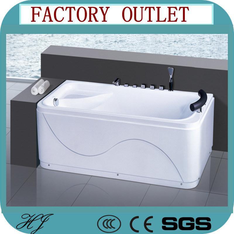 China Acrylic Massage Bath Tub Hydro Massage Hot Tub (5244) - China ...