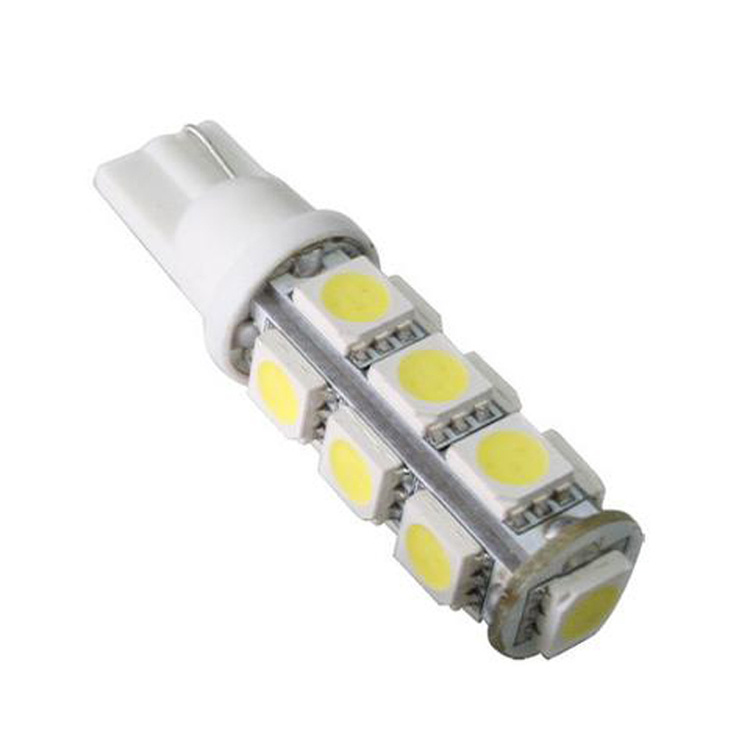 Led Auto Lights >> China 12v Automobile Led Lamp T10 W5w Car Lighting 5050 13 Smd Led
