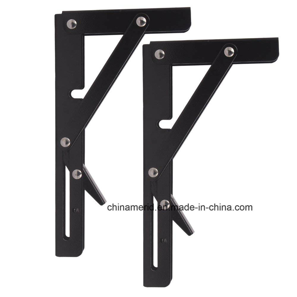 Sensational China Black Paint Folding Shelf Bench Table Folding Bracket Uwap Interior Chair Design Uwaporg