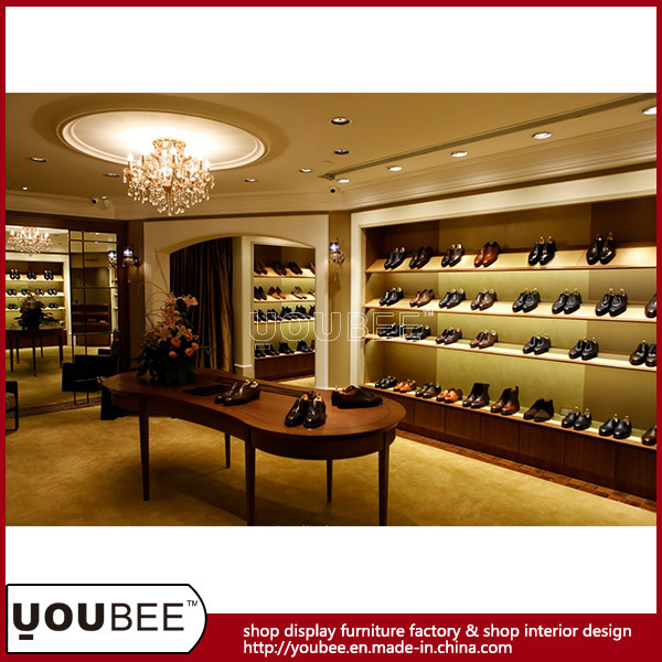 China Men Shoes Shopfitting, Footwear Shop Decoration From