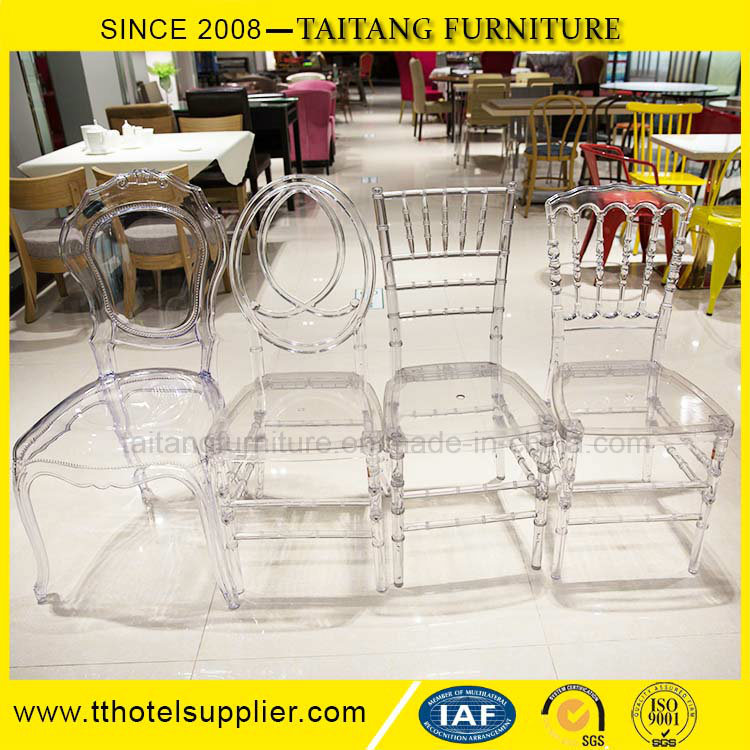 Hot Sell Acrylic Resin Plastic Wedding Rental Chiavari Chair pictures & photos