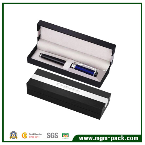 Fashion Design OEM Paper Wrapping Plastic Pen Box