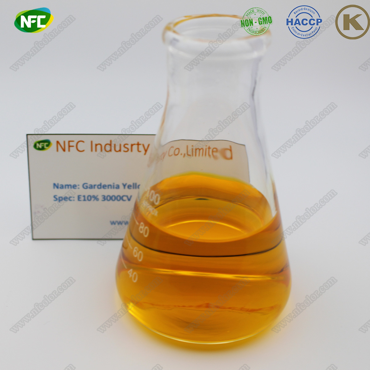[Hot Item] Natural Colorants Gardenia Yellow Powder for Food Coloring