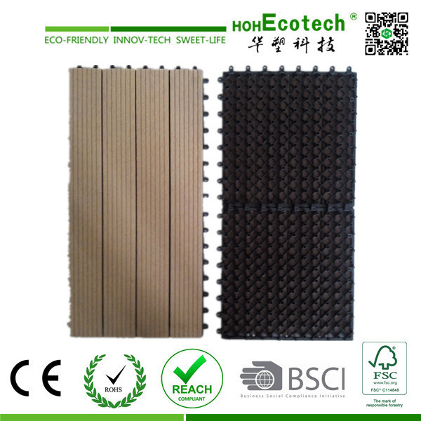 eco friendly diy deck. China DIY WPC Interlocking Composite Decking Tiles/ Cheap Deck Tiles - Tile, Eco Friendly Diy
