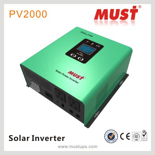 China Must Low Freq 2000va PWM AVR Functions Solar Inverter - China