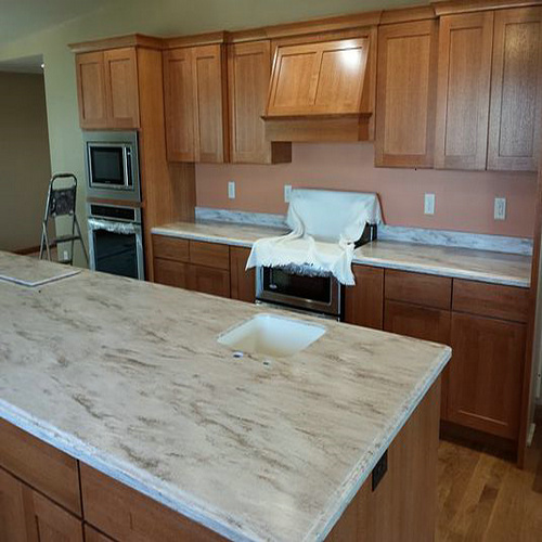 kitchen price options rock estimator kitchens for lava installed the pretty corian home countertop prices countertops sandalwood and