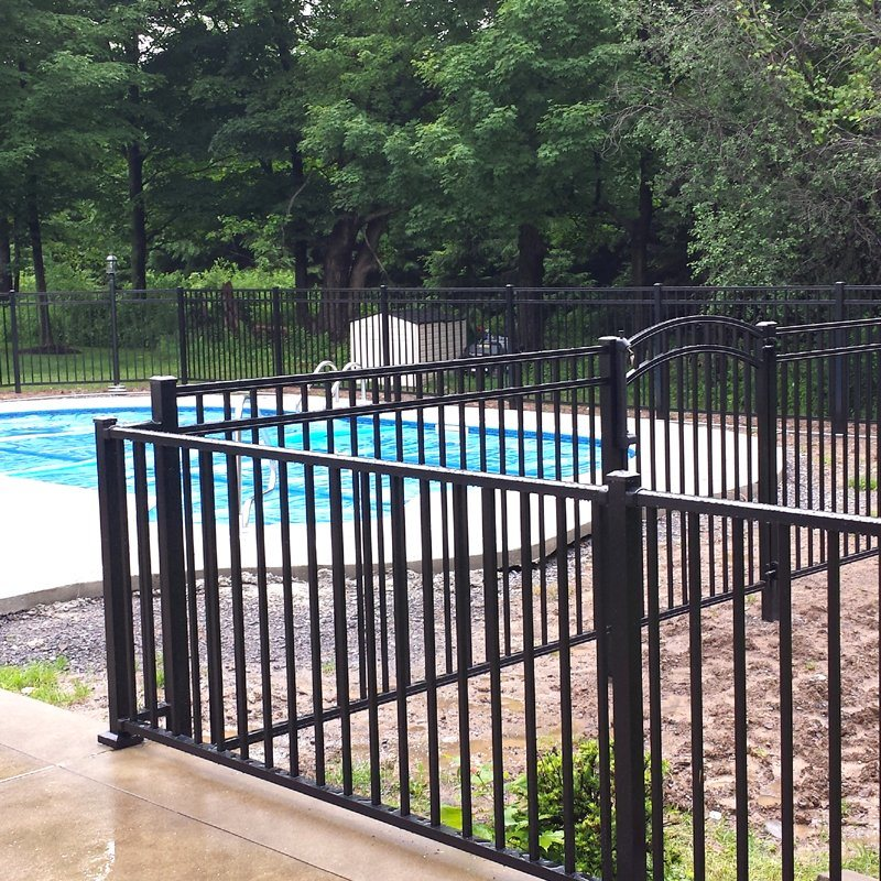 China Decorative Steel Metal Gardengrill Fence For Boundary Wall