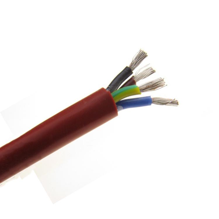 China Flexible Silicone Wire 200 Degree High Temperature Electric ...