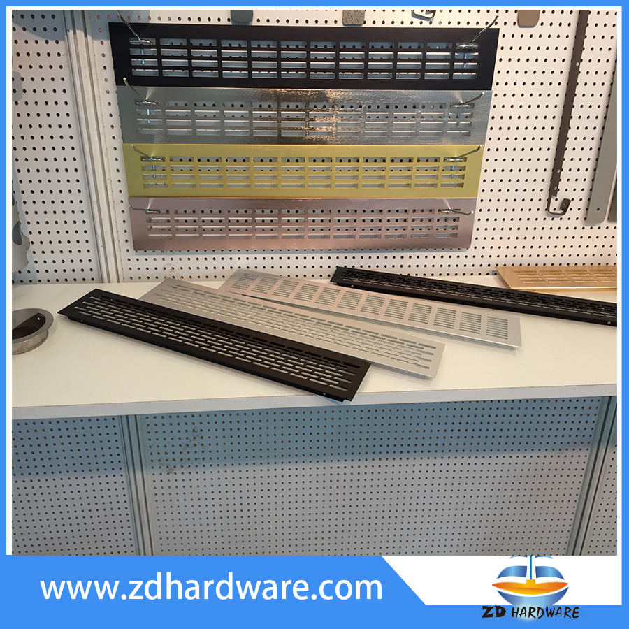 Aluminum Ventilation Grills Cabinet Profile Air Outlet